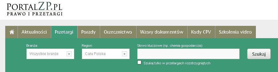 Portal Zamówień