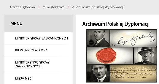 Archiwum Polskiej Dyplomacji