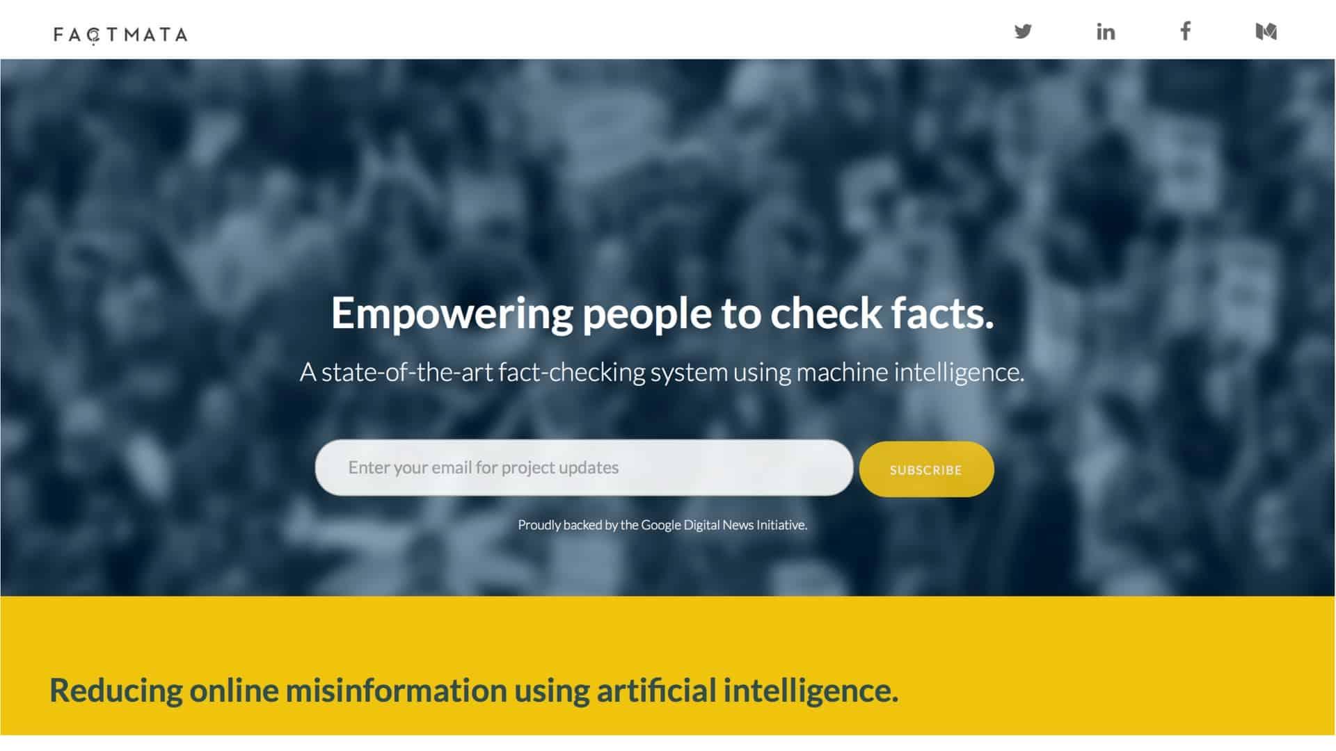 Factmata-sztuczna-inteligencja