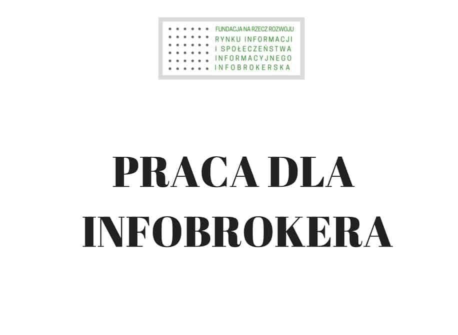 broker informacji praca
