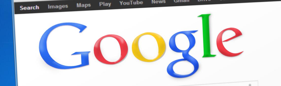 okno wyszukiwarki google